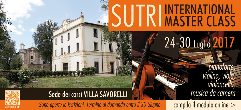 SUTRI INTERNATIONAL FESTIVAL 2017