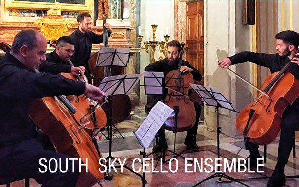 South  Sky Cello Ensemble - Beethoven Festival Sutri